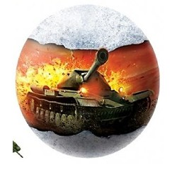 WORLD of TANKS SURPRISE CHOCOLATE BALL with 3D TOY INSIDE