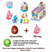 MY BLUE NOSE FRIENDS Chocolate. egg with a surprise (3D toy) roosters 20G