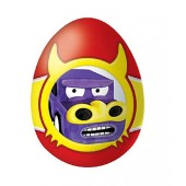 """Chocolate egg with a surprise """"AUTO MONSTERS"""""""