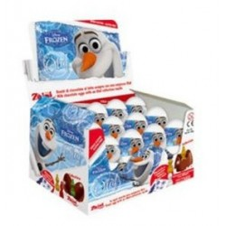 SURPRISE CHOCOLATE EGG DISNEY OLAF with 3D TOY INSIDE