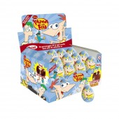 SURPRISE CHOCOLATE EGG DISNEY PHINEAS AND FERBO with 3D TOY INSIDE