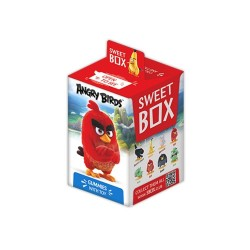 Sweet box The Angry Birds Movie Gummied and 3D Toy as Kinder Surprise Egg with Toy Inside