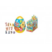 """SURPRISE EGG with 3D TOY and DROPS INSIDE DISNEY DISNEY """"WINNIE POOH"""" as Kinder Surprise Egg"""