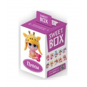 "SWEETBOX Fruit jelly with a toy in a box ""SMALL DOLLS"" 12 boxes/10 items (10g)"