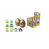 SURPRISE CHOCOLATE EGG CUT THE ROPE-2 with 3D TOY INSIDE