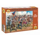 Австрийские мушкетеры и пикинеры XVII века