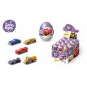 Шоколадное яйцо с сюрпризом Дисней Тачки Киндер сюрприз