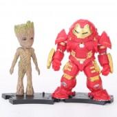 Фигурки героев фильма Avengers: Infinity War 8 шт