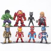 Фигурки героев фильма Мстители 3. Война бесконечности 8 штук