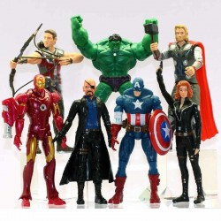Фигурки Мстители Marvel Супергерои 7 шт