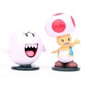 Фигурки героев игры Супер Марио 10 штук