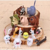Фигурки героев мультфильма Тайная жизнь домашних животных 14 штук