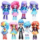 Фигурки героев мультфильма My Little Pony Equestria Girls 9 штук