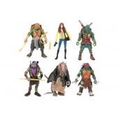 Фигурки героев игры Черепашки-ниндзя 5 штук