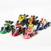 Фигурки героев игры Супер Марио 6 штук