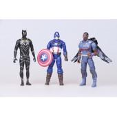 Фигурки героев мультфильма Мстители Marvel Avengers 14 штук