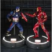 Фигурки Капитан Америка и Железный Человек